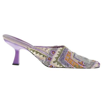 Konstantin Starke Mules with sequin trim