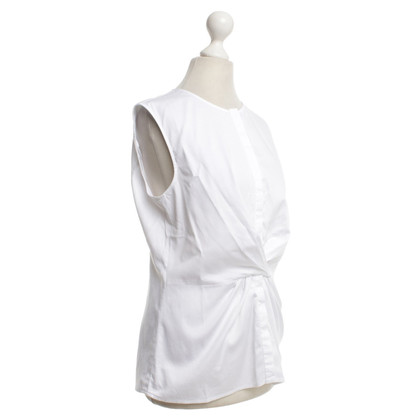 Hugo Boss Sleeveless blouse in white