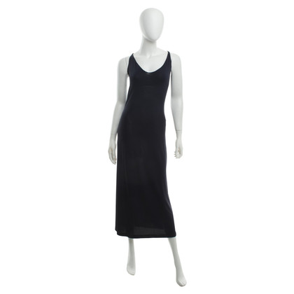 Marithé et Francois Girbaud Long dress in dark blue