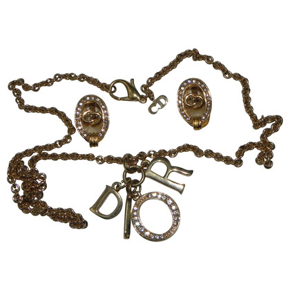 Christian Dior Jewelry set vintage