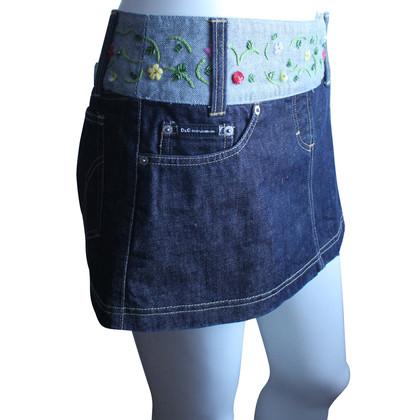 Dolce & Gabbana Mini gonna di jeans
