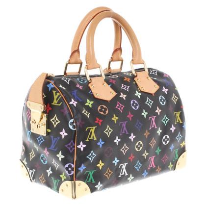 "Louis Vuitton ""Speedy 30 Monogram Multicolore Noir"""
