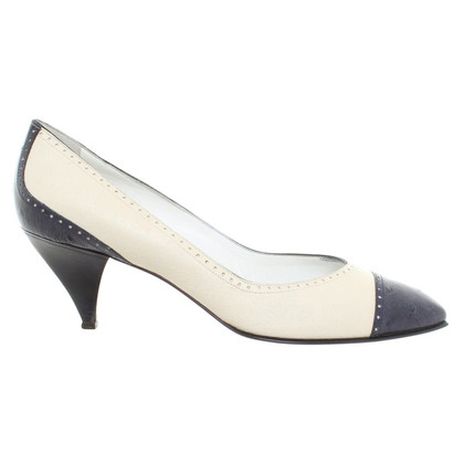 Pollini pumps in leather