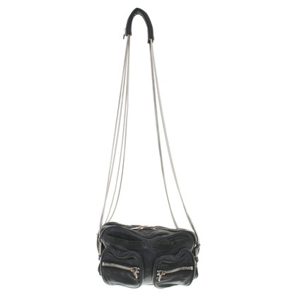 "Alexander Wang ""Brenda Chain Bag"" in Black"