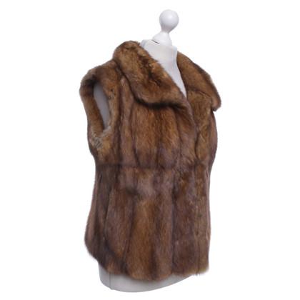 Other Designer J.M. Furs Sylt - sable vest