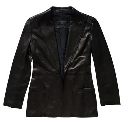 Gianni Versace Leather Blazer