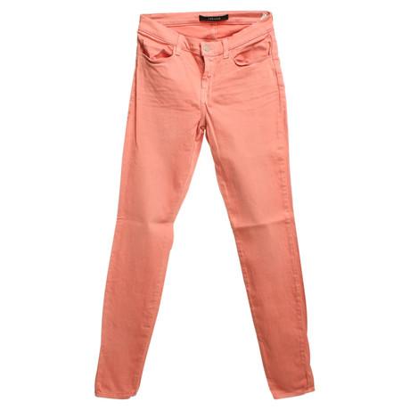 J Brand Lachsfarbene Jeans Andere Farbe