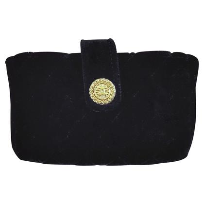 Chanel clutch made of velvet