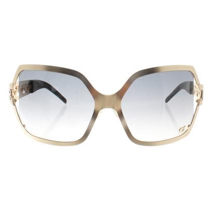 Richmond occhiali da sole color oro