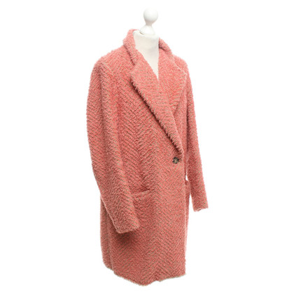 Isabel Marant Cappotto in Salmon / Beige