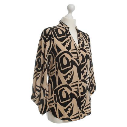 """Diane von Furstenberg """"Karia"""" camicia con stampa"""