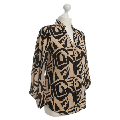 "Diane von Furstenberg ""Karia"" blouse with print"