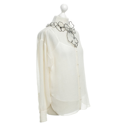 See by Chloé Blouse with floral decoration