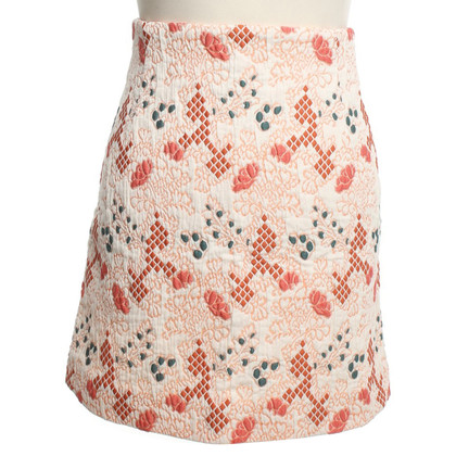 Vanessa Bruno skirt with colorful patterns