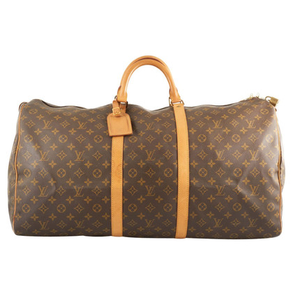 louis vuitton keepall 60 monogram canvas buy second. Black Bedroom Furniture Sets. Home Design Ideas