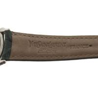 Yves Saint Laurent Wristwatch in dark green