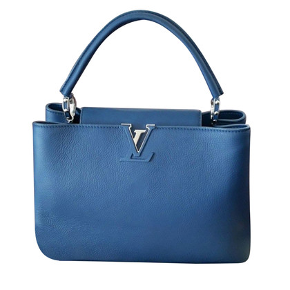 "Louis Vuitton ""Capucines"" in Blau"