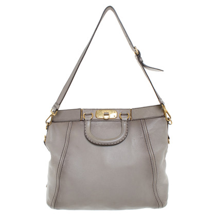 Prada Tote Bag a Gray