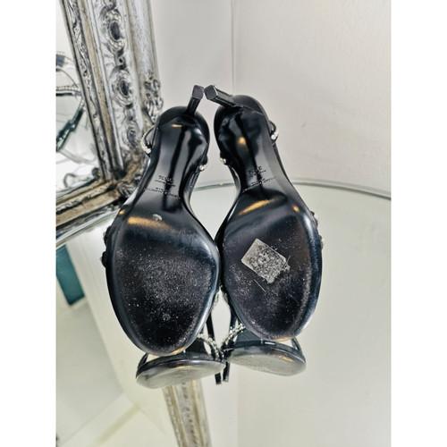 3e824400597 Yves Saint Laurent Sandals in Black - Second Hand Yves Saint Laurent ...