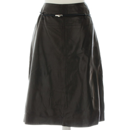 Aigner Skirt made from leather