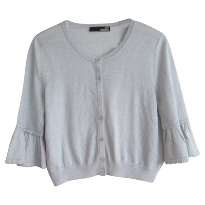Moschino Love Silver-colored cardigan