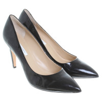 Diane von Furstenberg Black patent leather pumps