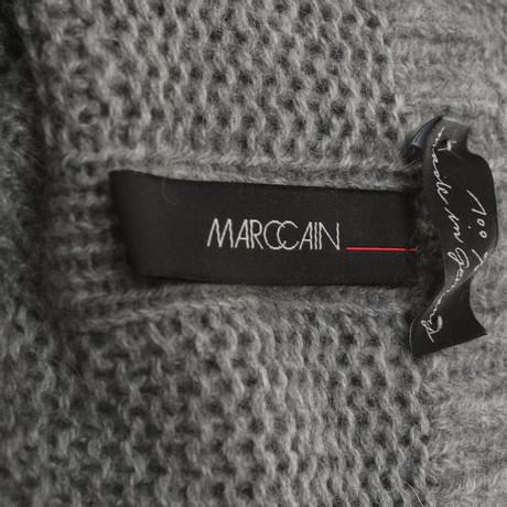 Freies Verschiffen Kaufen Billig Verkaufen Billig Marc Cain Stickkleid in Hellgrau Grau VPQUSLJv