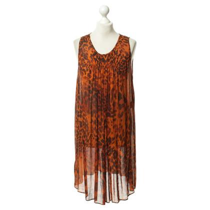 Plein Sud Kleid mit Leomuster