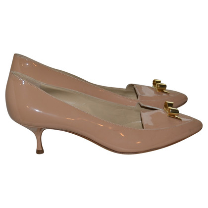Moschino Cheap and Chic Pumps aus Lackleder
