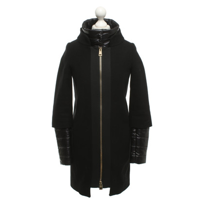 Herno Coat with quilted inserts