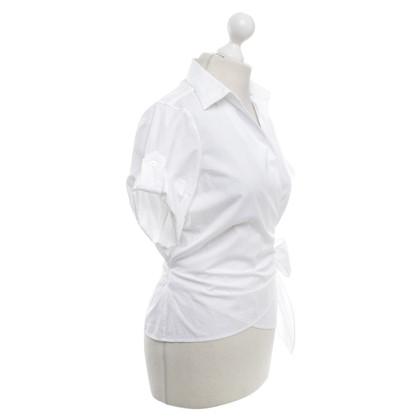 Ralph Lauren Wikkel blouse in het wit