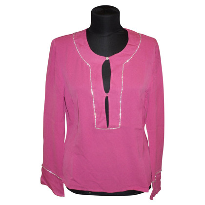 Red Valentino Silk tunic in pink