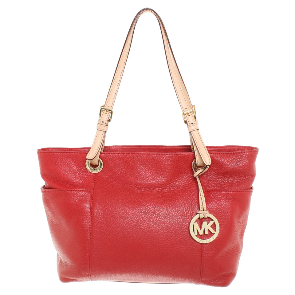 michael kors schultertasche in rot second hand michael kors schultertasche in rot gebraucht. Black Bedroom Furniture Sets. Home Design Ideas