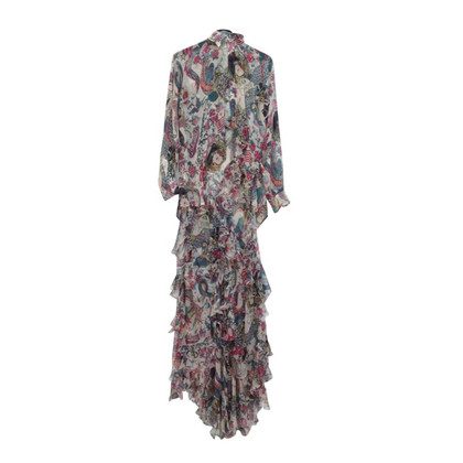 Christian Dior Maxikleid mit Bluse