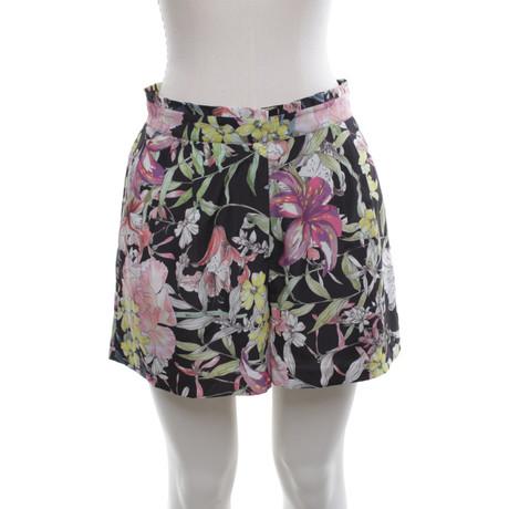 Reiss Shorts mit floralem Print Bunt / Muster