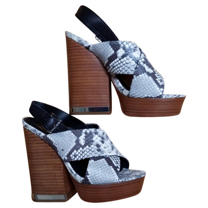 Ash Platform sandals with block heel