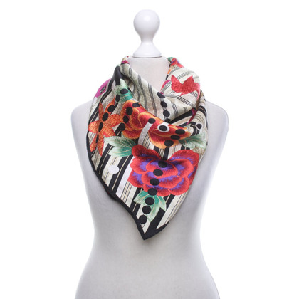 Other Designer Louis Féraud - Silk scarf