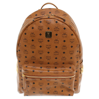 MCM Backpack with Monogram pattern