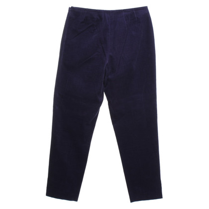 Gunex Corduroy trousers in purple