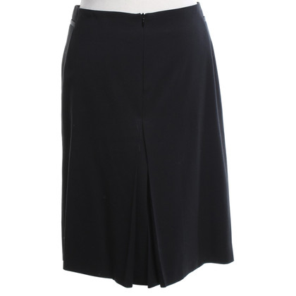 Costume National Wool skirt in black