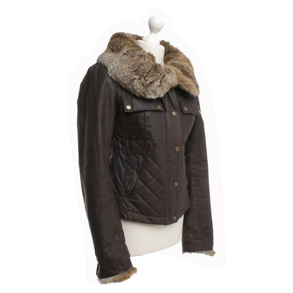 Belstaff Winterjacke with real fur collar