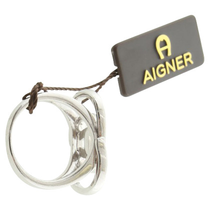 Aigner Silver colored ring