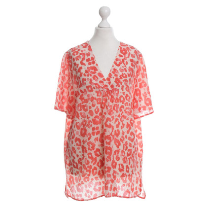 JOOP! Short sleeve blouse with animal pattern