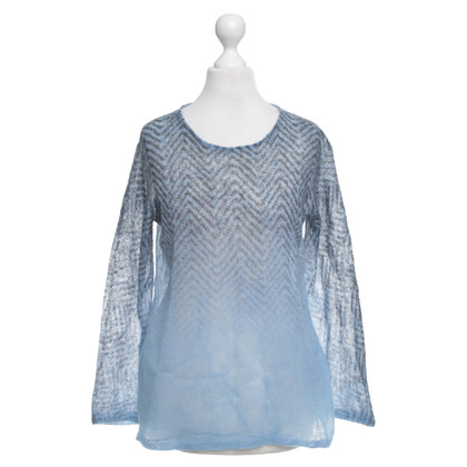 Marc Cain Strickpullover in Blau