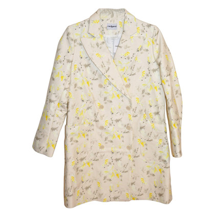 Cacharel Coat met vogelprint Pea