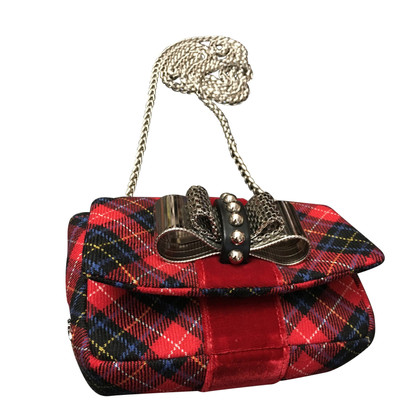 Christian Louboutin Christian Louboutin Tartan Shoulder Bag