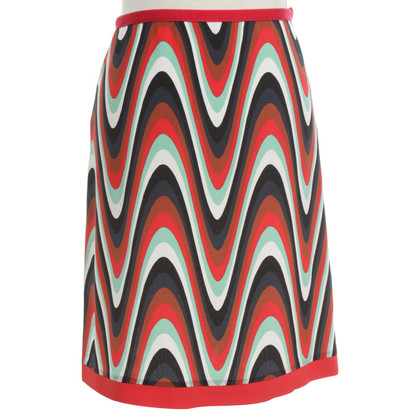 Missoni skirt in retro style