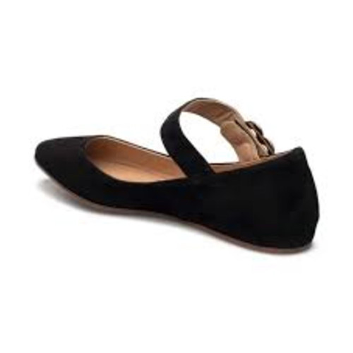 finest selection ea896 2c28f Moschino Slippers/Ballerinas Suede in Black - Second Hand ...