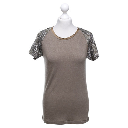 Pinko Shirt Tan / Silver