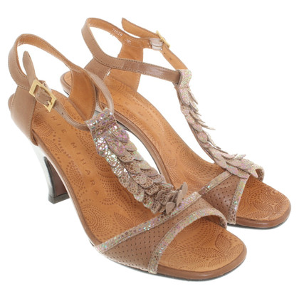 Other Designer Chie Mihara - Sandals in Brown